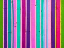 Verticale gekleurde Strepensamenvatting Stock Afbeelding