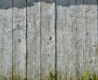 Verticale geschilderde planken - achtergrond Stock Fotografie