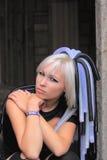 Verticale gothique de femme Photographie stock libre de droits