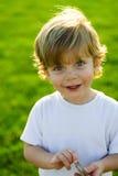 Verticale heureuse d'enfant Photos stock