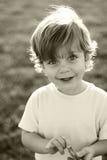 Verticale heureuse d'enfant Image libre de droits