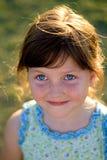 Verticale heureuse d'enfant Photos libres de droits