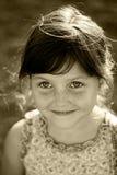 Verticale heureuse d'enfant Photographie stock libre de droits