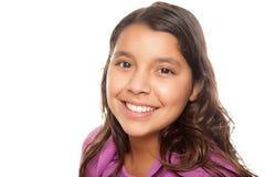 verticale hispanique de fille jolie Photos libres de droits