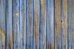 Verticale houten dichte omhooggaand van de plankomheining Gedetailleerde foto als achtergrond Stock Foto's