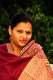 Verticale indienne de femme Image libre de droits