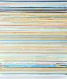 Verticale kleurendocument stapel royalty-vrije illustratie