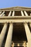Verticale kolommen van de Kathedraal van Heilige Paul royalty-vrije stock afbeeldingen