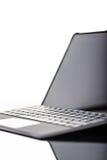 Verticale lisse de pointe d'ordinateur portable Image libre de droits