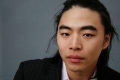 Verticale mâle asiatique Photographie stock