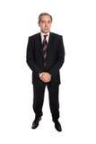 verticale mûre d'homme d'affaires Image stock