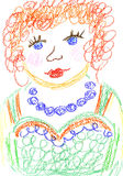 Verticale ma momie illustration stock