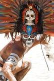Verticale maya Photographie stock libre de droits