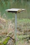 Verticale mening van toppositie voor wilde vogels royalty-vrije stock fotografie