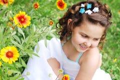 Verticale mignonne de petite fille Photos libres de droits