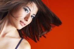 Verticale modèle Photo libre de droits