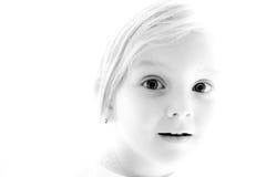 Verticale noire et blanche. image stock