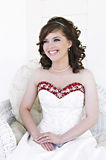 Verticale nuptiale photographie stock libre de droits