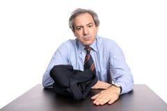 verticale occasionnelle d'homme d'affaires Photos libres de droits