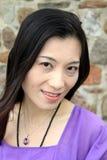 Verticale occasionnelle de femmes asiatiques Photo stock