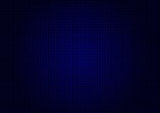 Verticale orizzontale di griglia blu del laser Fotografia Stock