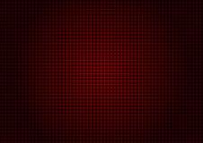 Verticale orizzontale di griglia rossa del laser Immagini Stock