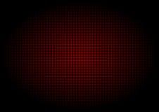 Verticale orizzontale di griglia rossa del laser Fotografia Stock