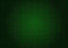 Verticale orizzontale di griglia verde del laser Fotografia Stock