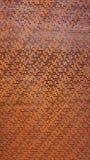 Verticale perforato rustico del metallo immagine stock libera da diritti
