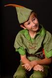 Verticale Peter Pan Photo libre de droits