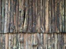 Verticale réglée vieux en bois d'eucalyptus images libres de droits