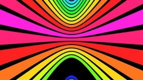 Verticale Regenboogstroken V2 - 4K Ultrahd stock illustratie