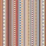 Verticale sans couture aztèque de modèle Photo libre de droits