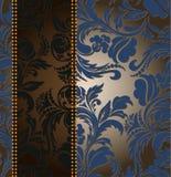 Verticale strook op een ornament Stock Foto's