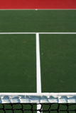 Verticale tennisbaansamenvatting Stock Foto's