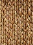 Verticale tessuto africano di struttura del cestino Fotografia Stock