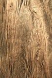 Verticale textuur van oude houten raad Stock Foto's