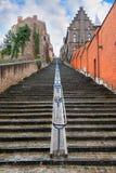 Verticale trap Luik Royalty-vrije Stock Afbeeldingen