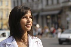 Verticale urbaine de fille photo libre de droits