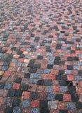 Verticale vecchio della pavimentazione del cobblestone Immagini Stock Libere da Diritti