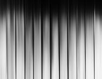 Verticale zwart-witte de gordijnenachtergrond van het motieonduidelijke beeld Royalty-vrije Stock Afbeeldingen