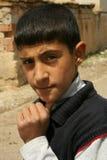 Verticales d'un garçon images libres de droits
