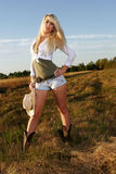 Verticales de cow-girl Image stock