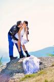 Verticales de mariage Photo stock