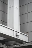 Verticalf Stahlsupport des Einkaufszentrums Lizenzfreies Stockfoto