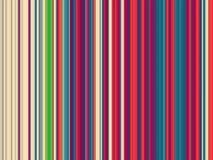 Verticle rayó líneas ilustración del vector