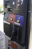 Vertiefung benutzte Gas-Pumpe Stockbilder