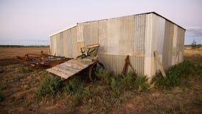 Vertiente de la granja Imágenes de archivo libres de regalías