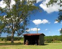 Vertiente de la granja fotografía de archivo
