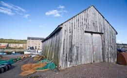 Vertiente de madera del almacenaje. Fotos de archivo libres de regalías